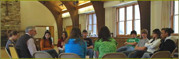 Youth Discussion banner
